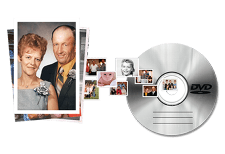 Archiving your old photos to dvd