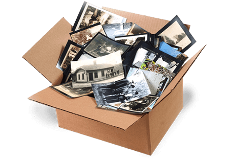 Archive your old boxes of photos to dvd