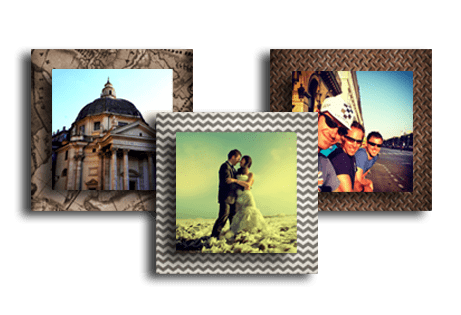 Metal photo prints